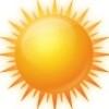 太阳光头像